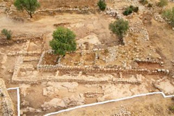 Remains of David's Palace: Hebrew University/Israel Antiquities Authority