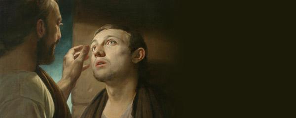 Jesus healing a blindman by Andrey Mironov/Wikipedia/Creative Commons