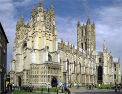 Canterbury Cathedral, England: Wikipedia/Hans Musil