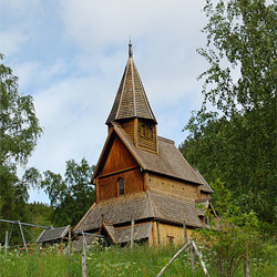 Urnes Stave Church - Church of Norway: Petr Šmerkl, Wikipedia