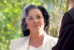 her vows with husband Phil on Duck Dynasty Photo: A&E Youtube channel