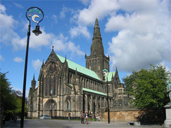 Church of Scotland may be forced to stop conducting marriages Photo: St Muno's Cathedral, Glasgow, Scotland