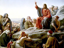Jesus taught we needed to forgive in order to be forgiven. Image: Jesus' Sermon on the Mount by Carl Bloch (1834-1890) Wikipedia