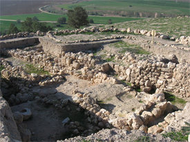 Work at the ancient site of Gath revealing evidence of Goliath Photo Gath archaeological dig: Wikipedia/ori~