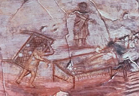 Prior to this, the earliest known image of Jesus is one depicting Jesus healing the paralytic dated to 235 AD: Image Wikipedia/Marsyas
