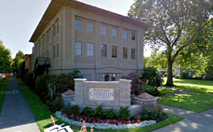 How did an atheist end up as president of the student union at a Christian College? Photo Northwestern Christian University: Google Earth