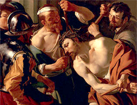 Jesus is ranked the most influential person in human history. Painting of Jesus by Dirck Van Baburen