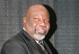 Potter's House pastored by TD Jakes started Balm Ministry that minister specifically to people with AIDS. Photo TD Jakes Flickr/Thomasmediagroup
