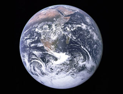 The world has become a much smaller place for disease. Photo Wikipedia/NASA