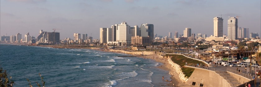 Tel Aviv, Israel Credit: Elanna/Flickr/Creative Commons