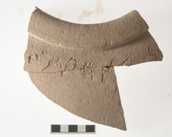 Inscription reveals ancient wine jug belonged to King Solomon. Photo courtesy Dr. Eilat Mazar by Ouria Tadmor