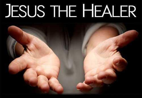Believing Jesus for healing.