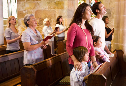 What affects a child's future church attendance as an adult?