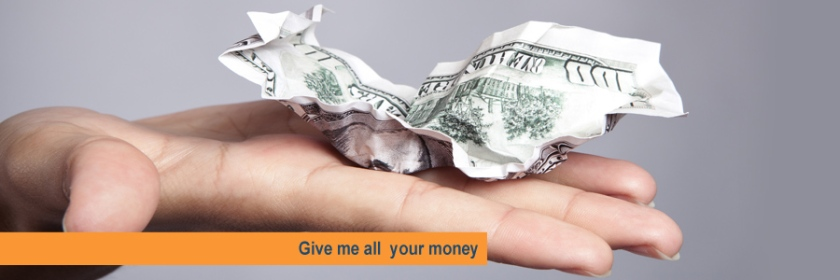 Give me all your money. Photo: Taxcredits.net