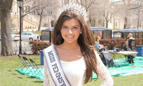 Conceived through rape, Valerie won the 2014 nomination for Miss Pennsylvania Photo: Valerie Gatto