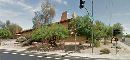 Mesa Baptist Church: Google Earth