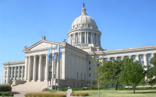 Oklahoma in activists sights to legalize Marijuana. Photo: Oklahoma legislature Wikipedia Caleb Long