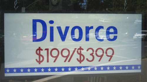 Why do so many people regret their divorce? Image Banjo D | Foter | Creative Commons