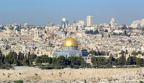 How are Israel and the Church connected?  Photo: Jerusalem / Wikipedia/Berthold Werner