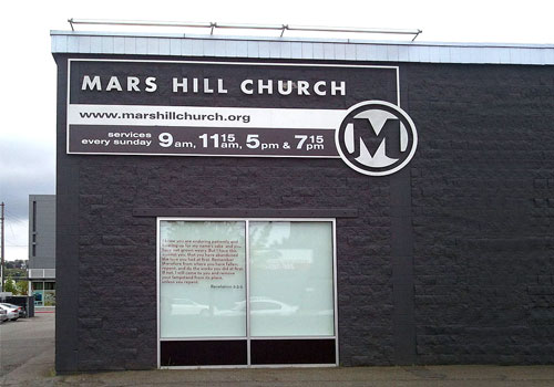Mars Hill Church Wikipedia/Frank Brown