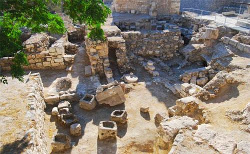 Controversial bethesda pool discovered exactly where john for Piscine de bethesda