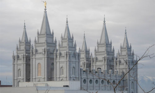 Mormon Temple in Salt Lake City: Image Mag3737/Flickr