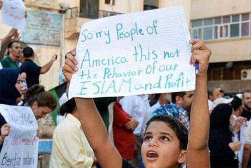 Muslim demonstrations