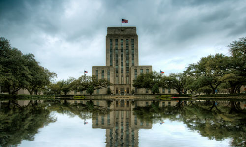 A dark day for Christians in Houston, Texas Photo: Houston City Hall digital-dreams | Foter | CC BY-NC-SA