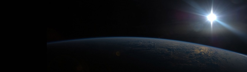 Photo from Marshall Space craft sun over the India ocean. Photo: NASA/Flickr