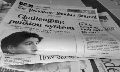 Why did the newspaper have a blank column? Image: Rick Payette | Foter | CC BY-NC-ND