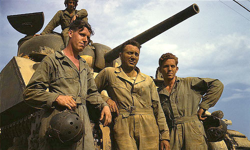 World War II Tank Crew