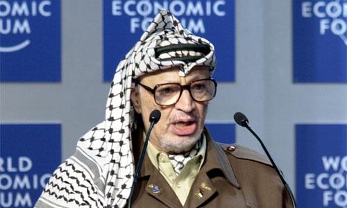 Did PLO leader Yasser Arafat believe on Jesus before he died? Image Yasser Arafat: Wikipedkia | Flickr | World Economic Forum