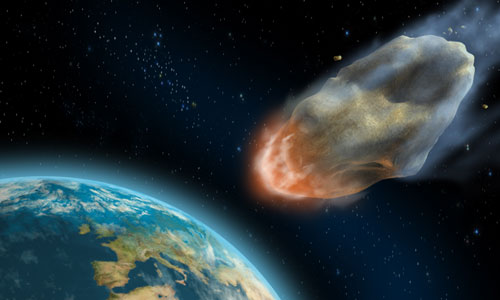 Does the Bible talk about a day when asteroids will terrorize the earth?