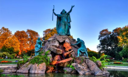 More archae0logical evidence of the Exodus? Image Statue of Moses, Washington Park, Albany, New York by Petedz/IW/ CC BY-NC-SA