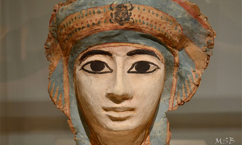 Mummy mask made of papyrus. Photo: mbudemer/foter/CC BY-NC-SA