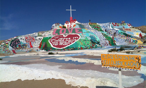 Salvation Mountain Photo: Jnanic/Foter/ CC BY-SA