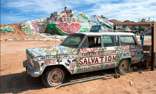 Another painted vehicle. Photo: akahawkeyefan/foter/cc by-nc-sa
