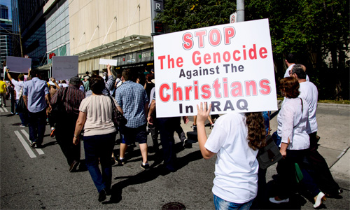 Christians under siege in the Middle East. Photo Michael Swan/Foter/CC BY-NC-ND