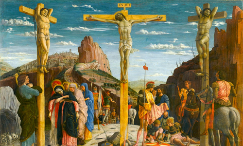 Crucifixion of Jesus by Andrea Mategna (1431-1506)
