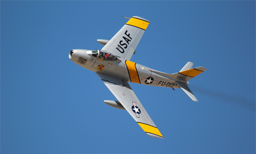 F86 Sabre Jet Photo: V_silvestri/Foter/CC BY-NC-ND