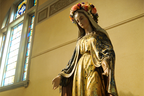 We are no different than Mary! Photo: Wonderland/Foter/CC BY