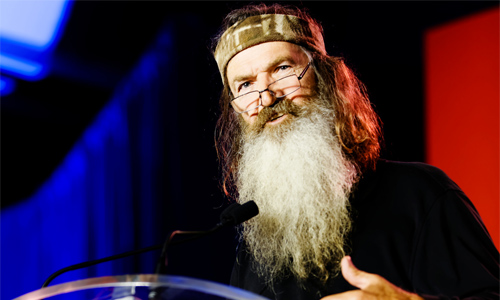 Phil Robertson stuck to his convictions. Photo: Michael Vadon/Foter/CC BY-NC