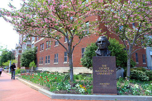 The George Washington University Photo: ingfbruno/Wikipedia
