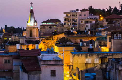 Nazareth at dusk Photo: 1yen/Foter/CC BY-NC-SA