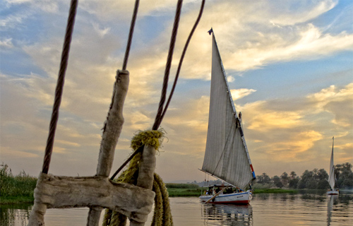 Egypt's Nile River Photo: sdhaddow/Foter/CC BY-NC-SA