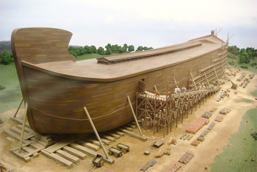 Rendering of Noah's ark Creation museum. Photo: Elmada/Foter/CC BY-NC_SA