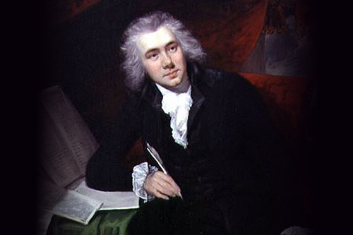William Wilbourforce, age 29, by John Rising (1753-1817): Wiki[pedia