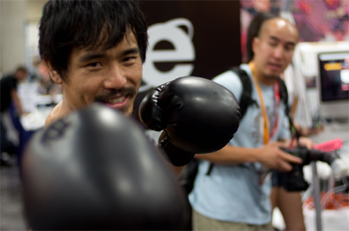 Manny Pacquiao Photo: PatLoika/Foter/CC BY