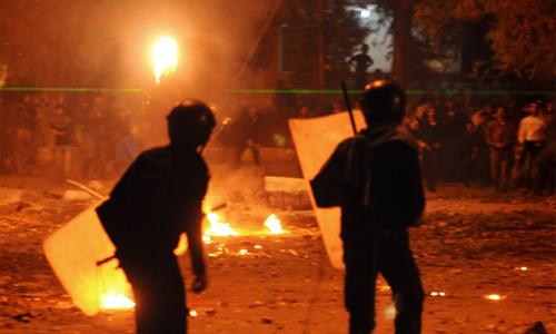 Clashes between Muslims in Cairo, Egypt Photo: Jonathan Rashad/Source/CC BY-NC-SA