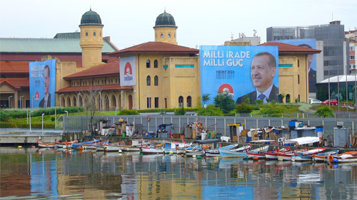 President Erdogan on billboards in Istanbul, Turkey Photo: Jofre Ferrier/Foter/CC BY-NC-ND